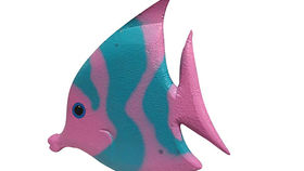 Image of a Pink Tropical Fish