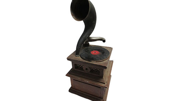 Picture of a Prop: Radio, Antique Radio: Gramophone Small