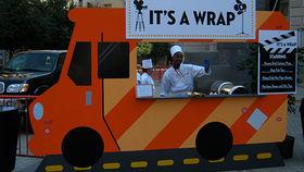 Image of a Set: Gourmet Food Trucks - Orange Striped