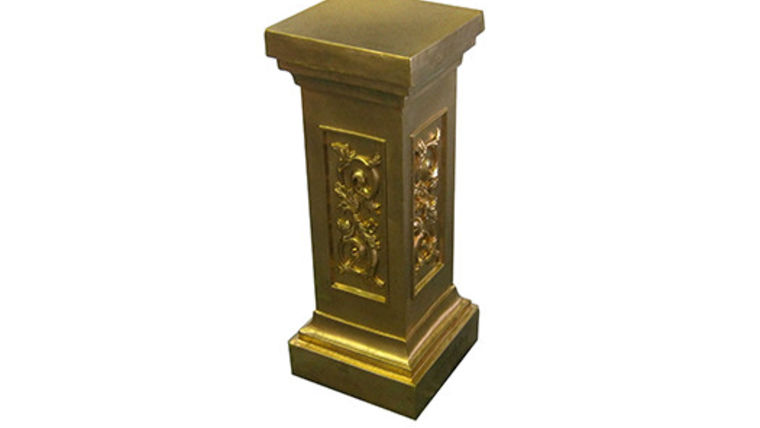 Picture of a Gold Pedestal
