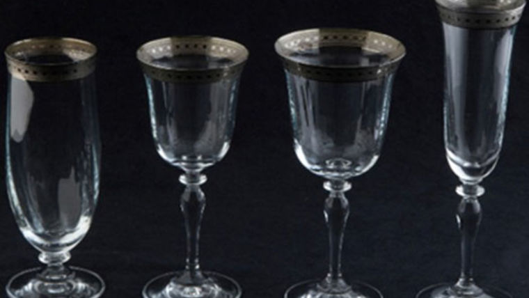 Picture of a Glassware: Imperial Platinum Rim Water Glass