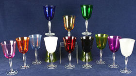 Image of a Glassware: Lido Cobalt Blue Water Glass