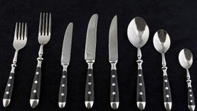 Image of a Flatware: Copenhagen Stainless Dessert/Soup Spoons