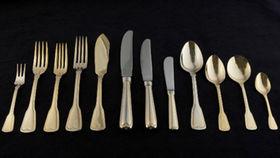 Image of a Flatware: Hampshire Gold Dinner Forks