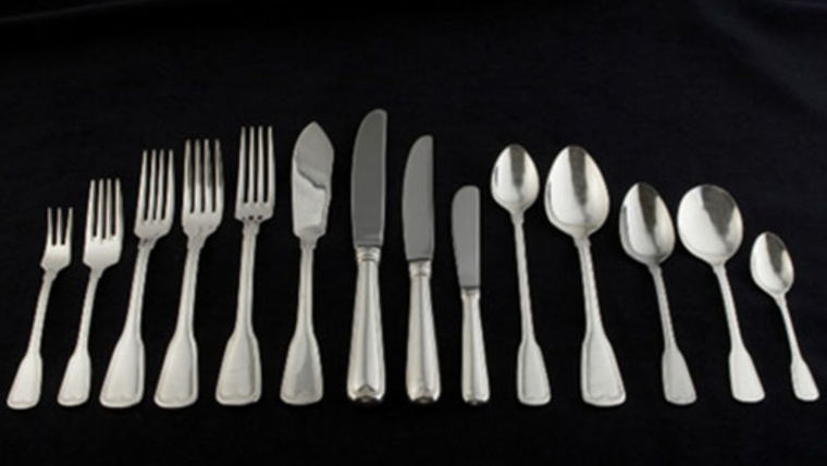Picture of a Flatware: Hampshire Silver Salad Knives