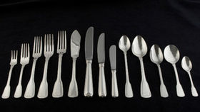 Image of a Flatware: Hampshire Silver Dessert/Soup Spoons