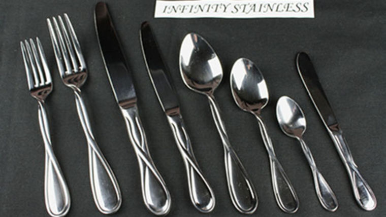 Picture of a Flatware: Infinity Stainless Dinner Forks
