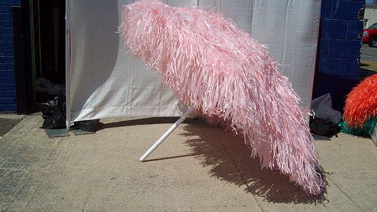 Picture of a Umbrella: Raffia Pink
