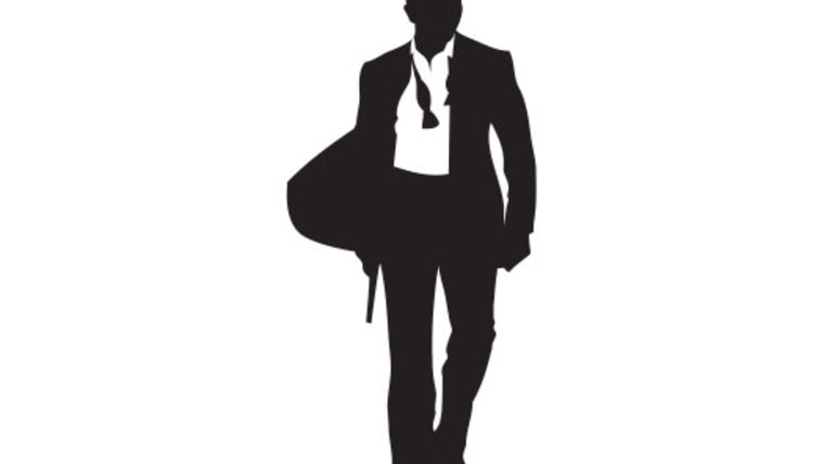 Picture of a Cutout: International Spy Silhouette, Modern