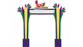 Image of a Entrance: Mardi Gras