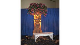 Image of a Giddy Enchanted Storybook Tree