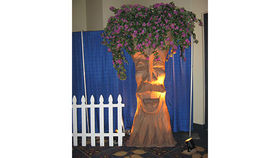 Image of a Happy Enchanted Storybook Tree