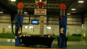 Image of a Entrance: Sports, Basketball