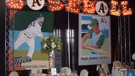 Image of a Entrance: Sports, Baseball - Lit