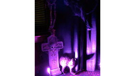 Image of a Prop: Halloween, Tombstone, R.I.P Cross