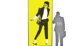 Image of a Pop Wall: MJ