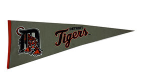 Image of a Sports Pennant, Detroit Tigers