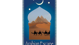 Image of a Travel Poster, Arabian Escape