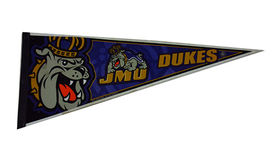 Image of a Sports Pennant, JMU Dukes