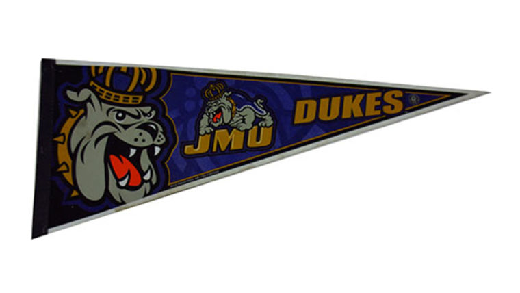 Picture of a Sports Pennant, JMU Dukes