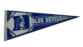 Image of a Sports Pennant, Duke Blue Devils