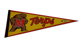 Image of a Sports Pennant, Maryland Terps