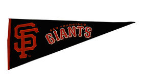 Image of a Sports Pennant, San Francisco Giants