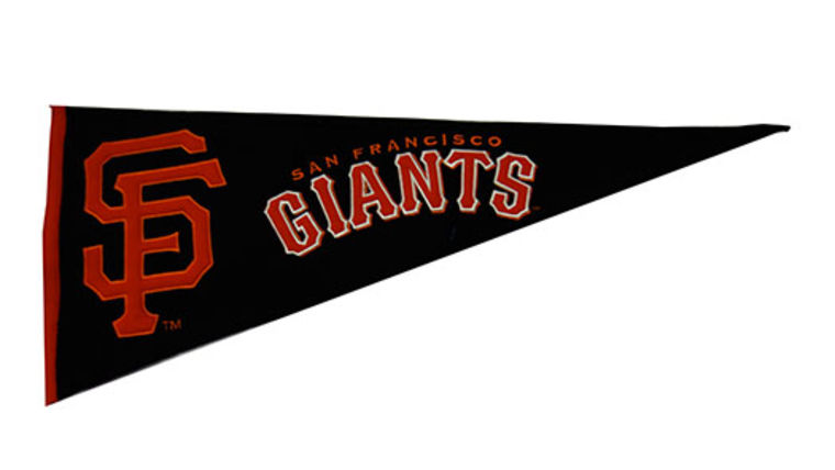 Picture of a Sports Pennant, San Francisco Giants