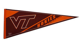 Image of a Sports Pennant, VT Hokies