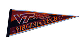 Image of a Sports Pennant, Virginia Tech