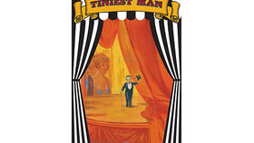Image of a Side Show Banner, Smallest Man