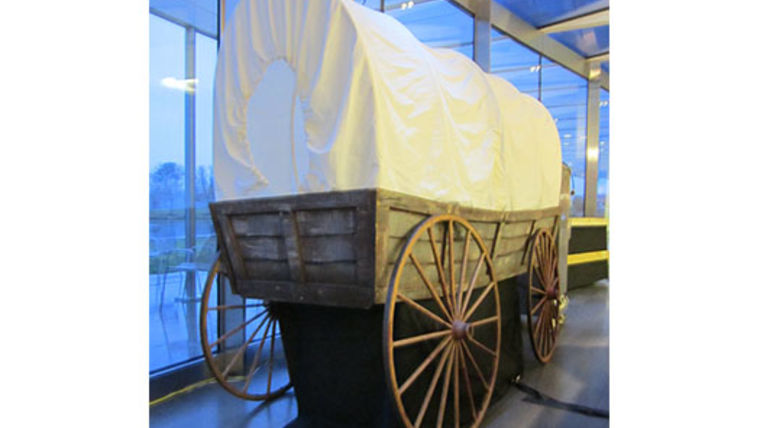 Picture of a Prop: Covered Wagon