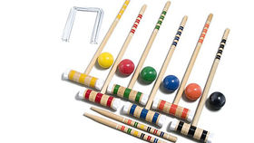 Image of a Croquet Set