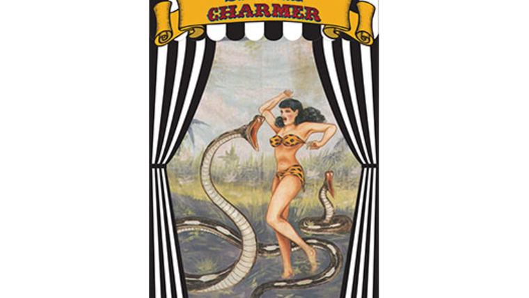Picture of a Side Show Banner, Snake Charmer