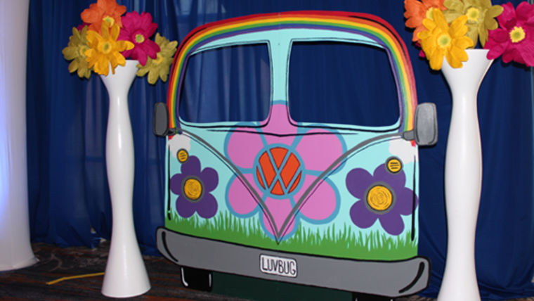 Picture of a Prop: VW Van Front End Photo Op