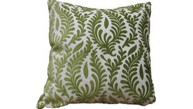 Image of a Light Olive Floral Pillow