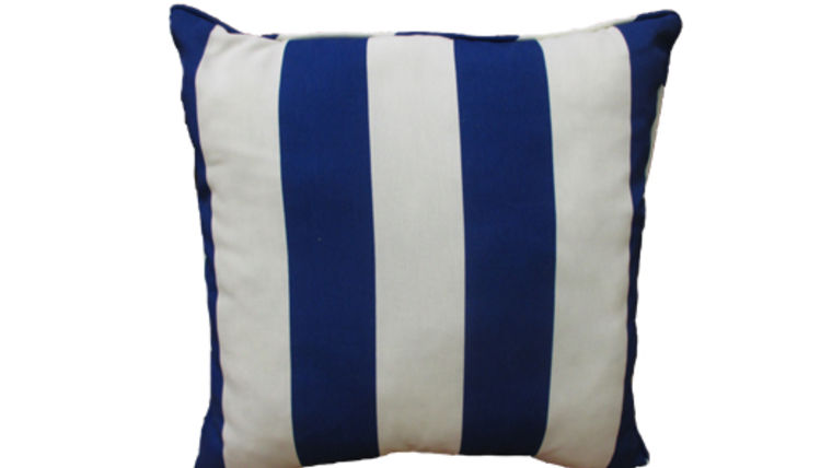 Picture of a Blue Stripe Pillow