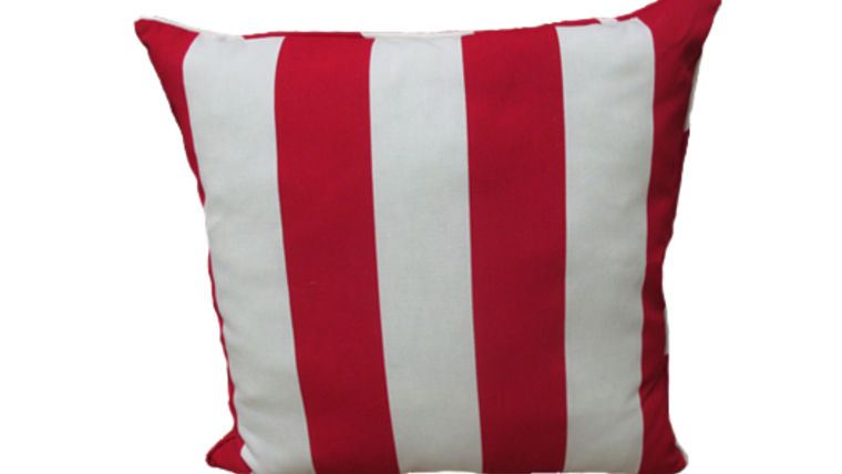 Picture of a Red Stripe Pillow