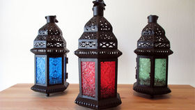 Image of a Lanterns: Moroccan Glass