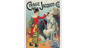 Image of a French Lithograph, Cirage Jacquot