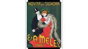 Image of a French Lithograph, Novita Signora