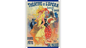 Image of a French Lithograph, Theatre de L'Opera