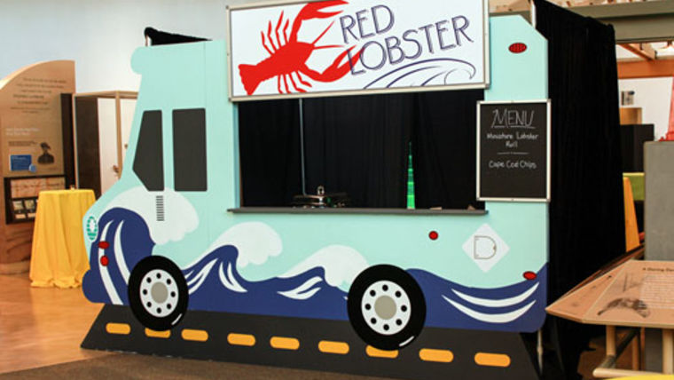 Picture of a Set: Gourmet Food Trucks - Ocean