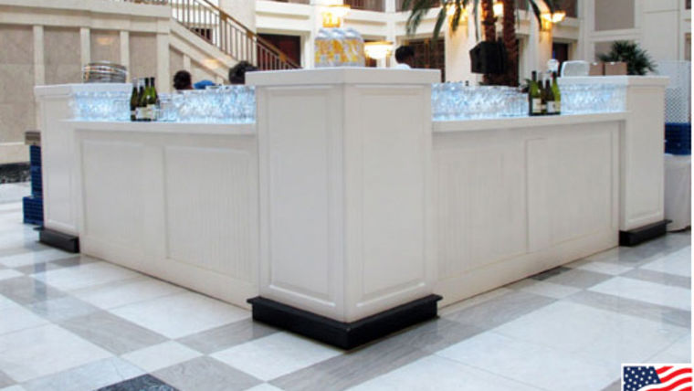 Picture of a Bars: Bead Board, V w/ 3 Pedestals