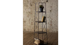 Image of a 4 Tier Iron Tower Shelf