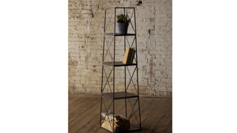 Picture of a 4 Tier Iron Tower Shelf
