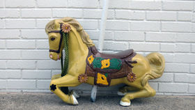 Image of a Marigold Carousel Horse