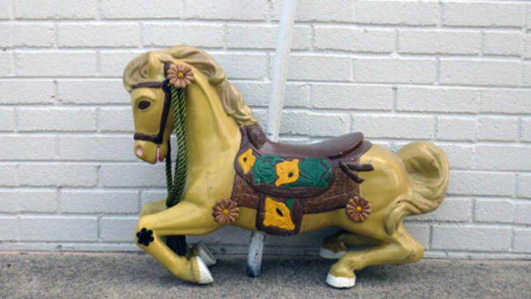 Picture of a Marigold Carousel Horse