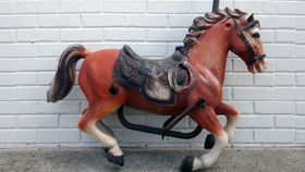 Image of a Race Carousel Horse