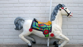 Image of a Classic Carousel Horse